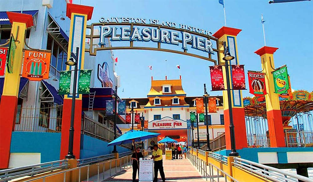 Summer Fun at the Galveston Pleasure Pier