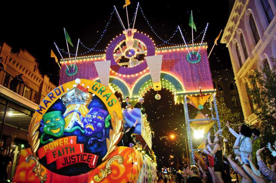 Mardi Gras in Galveston | Stella Mare RV Resort