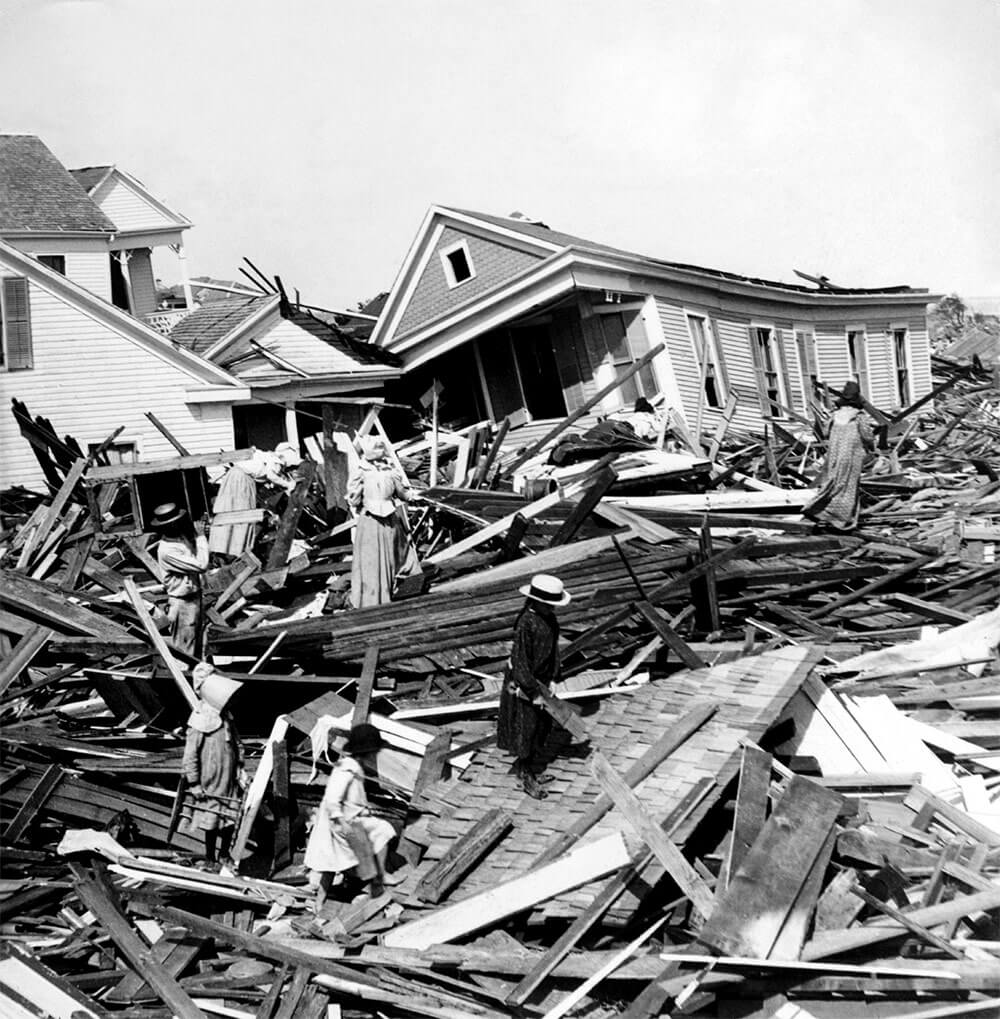 The Great Storm of 1900 | Stella Mare RV Resort
